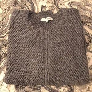 Madewell Chunky Gray Sweater - Women's XL